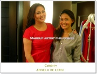 Celebrity Makeup Artist in Philippines with Angelu De Leon