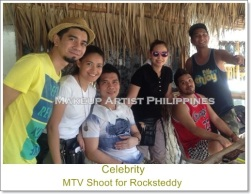 Celebrity Make up Artist in Philippines with Rocksteddy