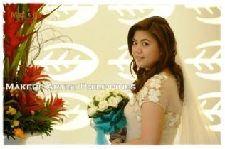 Makeup Artist in Intramuros Wedding
