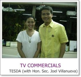 Makeup Artist Philippines with Sec. Joel Villanueva