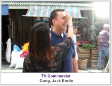Makeup Artist Philippines - with Cong. Jack Enrile