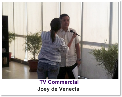 Makeup Artist Philippines- with Hon. Joey De Venecia