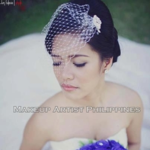 Bridal Hair & makeup in Tagaytay