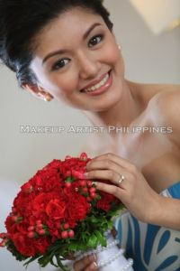 makeup artist philippines wedding in Holiday Inn ortigas
