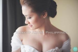 Makeup Artist Philippines in Sofitel Wedding