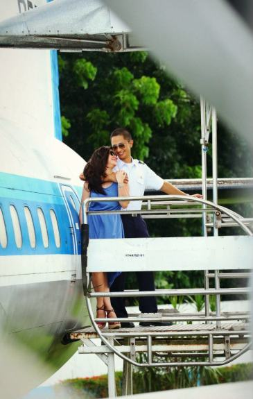 Prenup in Aerospace Museum
