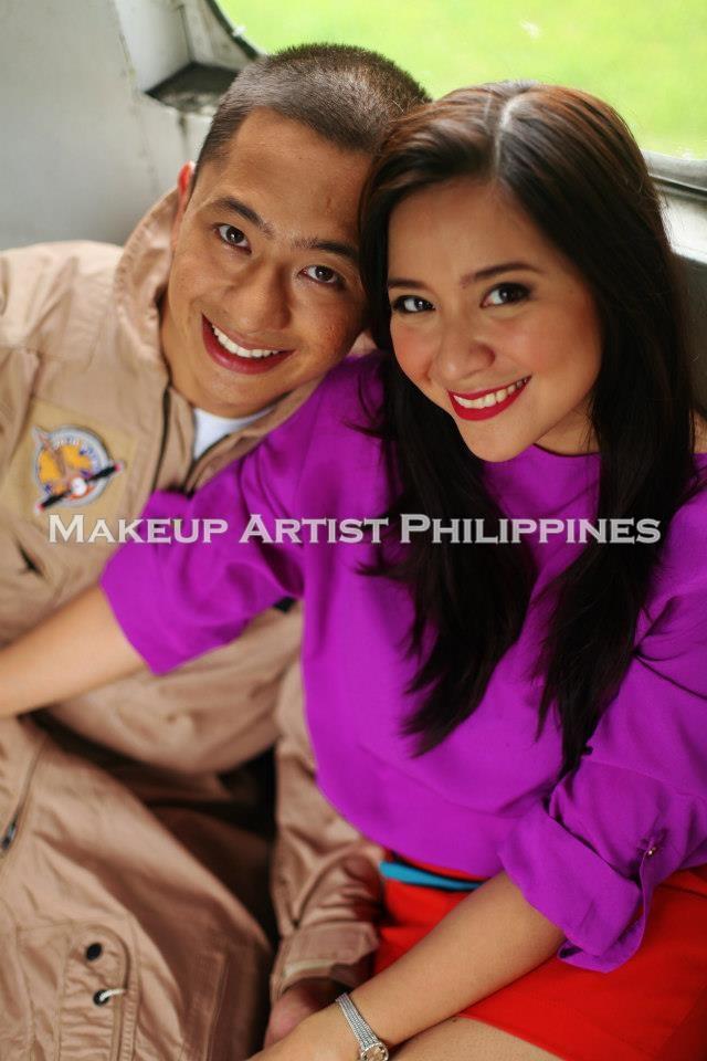 Makeup Artist Philippines Prenup Shoot In Philippine Aerospace Museum Aircraft Park Villamor