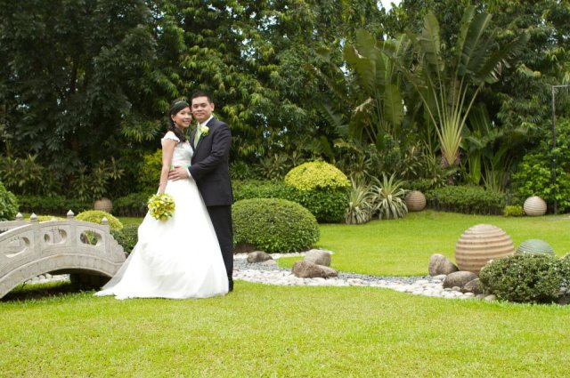Garden in Oasis Manila Wedding