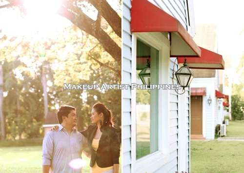 Makeup Artist Philippines Prenup In The Greenery Bulacan