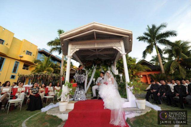 Garden Wedding in Casa Ibiza Antipolo, Rizal Philippines