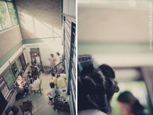 Wedding Preps in Yellow Coco in Tagaytay