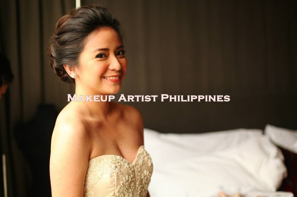 Makeup Artist Philippines Wedding At The Enderun Mckinley Hill Taguig Our Lady Of Beautiful Love Merville