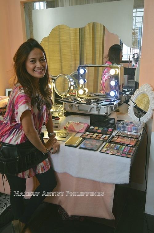 Mikee Palmera Makeup Artist Philippines