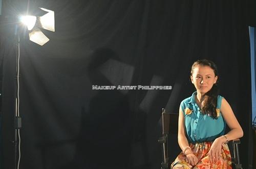 Makeup Artist Philippines BTS