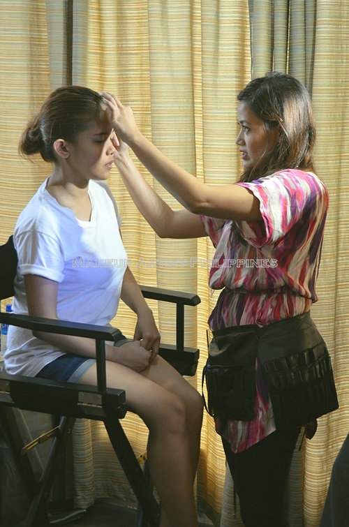Makeup Artist Philippines in TV5 Good Morning CLub (5)