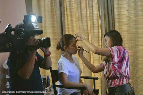 Makeup Artist Philippines in TV5 Good Morning CLub (6)
