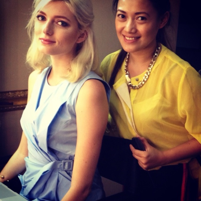 America's Next Top Model (Cycle 18) Sophie Sumner with Ms Mikee